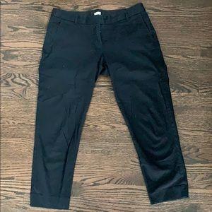 J. Crew Stretch Black Pants Size 10
